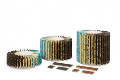 Sanding strip system - Cosma Brush Manufacturer