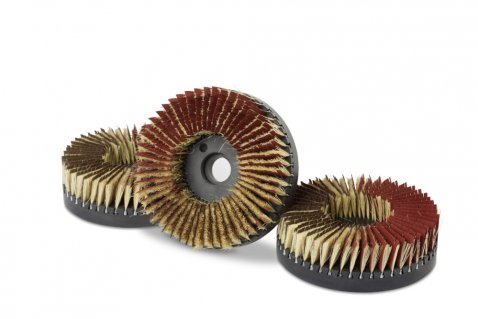 Disc brushes for deburring - Cosma Brush Manufacturer