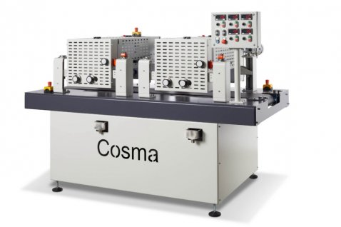 Roller coater double RCRC - Cosma Machine Factory