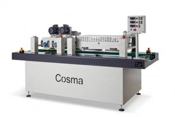 Oil spreading machine, 2 padbrushes, 2 roller brushes - Cosma Machine Factory