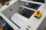 Roller coater olie lijn parket productie - Cosma Oppervlaktetechniek
