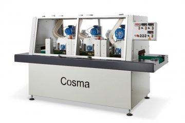 Structureermachine hout verouderen - Cosma Machinebouwer