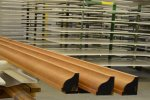 Wooden profile sanding - Cosma Brush & Machine Manufacturer