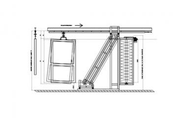 Verticale schuurmachine - Cosma Machinebouwer