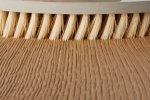 Pad brushes oiling wood grain - Cosma Surface Technology