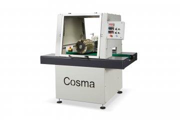 Bürstmaschine zum Entgraten Rohren - Cosma Maschinenhersteller