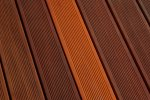 Bankirai decking after cleaning - Cosma Surface Technology