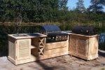 Production de cuisine en bois - Cosma Fabricant de Brosses & Machines