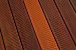 Terrasse Bankirai après le nettoyage - Cosma Traitement de Surface