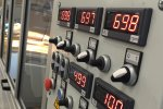 Schleifmaschine Anzeige - Cosma Maschinenhersteller
