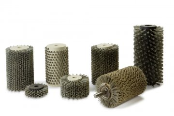 Rundbürsten Strukturieren - Cosma Bürstenhersteller