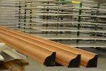 Pré-ponçage de profilés en bois - Cosma Fabricant de Brosses & Machines