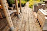 Production de meubles de jardin en bois - Cosma Fabricant de Brosses & Machines