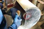 Ponçage des sabots avec brosse - Cosma Fabricant de Brosses & Machines