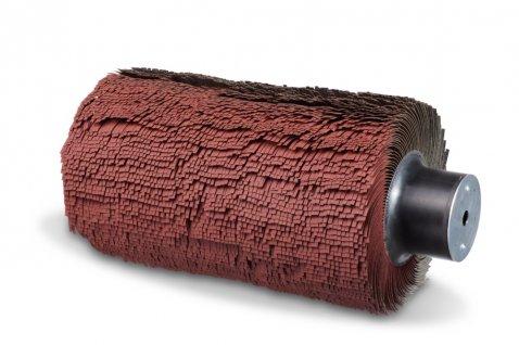 Deburring brush for Timesavers metal deburring machine - Cosma Brush Manufacturer