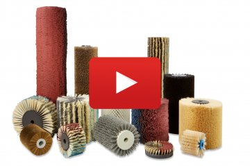 Oppervlaktebewerking & borsteltechniek - Cosma Borstelfabriek